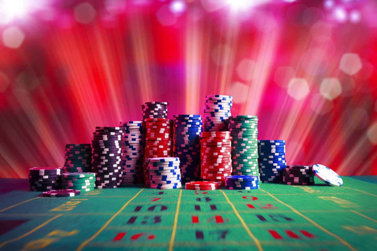 Texas Hold Em poker player